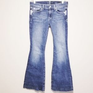7 for all Mankind Distressed Dojo Jeans